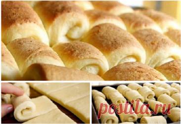 Самые нежные и румяные булочки – рецепт удивительно прост!