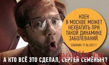 Собянин пугает людей нехваткой больничных коек, а я расскажу, кто всё это сделал | Советский патриот | Яндекс Дзен