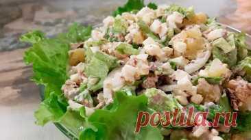 Превращаем капусту и лук в сытный салат. Добавляем банку рыбных консервов и можно подавать - Карельские Вести - медиаплатформа МирТесен