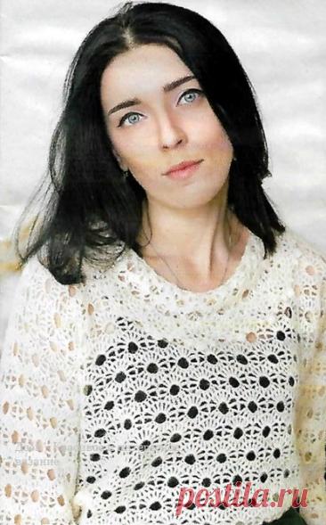 Весенние женские модели крючком со схемами | Красивое и интересное вязание | Яндекс Дзен