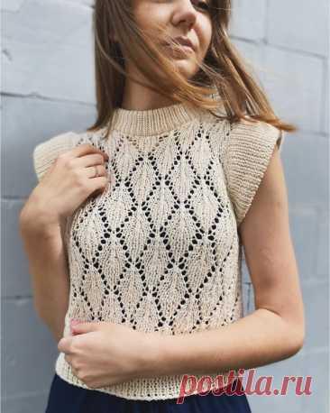 61 модель летних пуловеров и кофточек