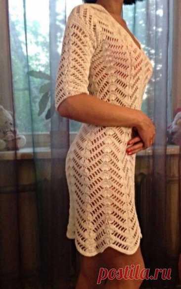 Идея для вязаного платья