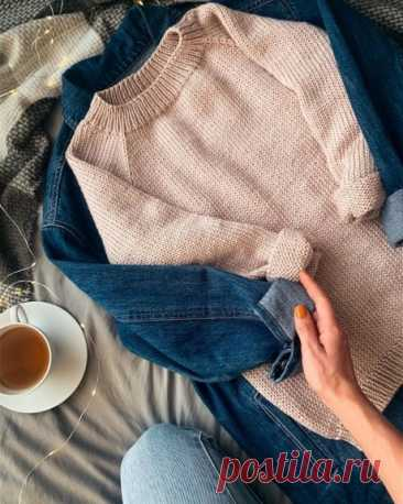 Базовый свитер спицами для женщин, Вязание для женщин