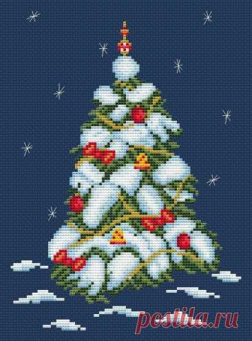 Вы ставите елку на Рождество или вышиваете? | ВЕРА БУРОВА, канал про вышивку | Яндекс Дзен