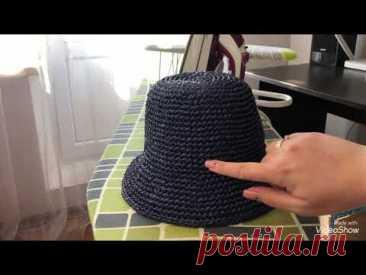 Как я отпариваю шляпы из рафии