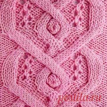 Узоры спицами с шишечками #knitting #вязание_спицами #узоры_спицами
