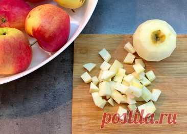 Жарю яблоки, на сливочном маслице и подаю к чаю | Домохозяйка со стажем/Галина | Яндекс Дзен