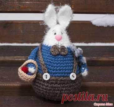 Пасхальный Заяц - Вязание - Страна Мам