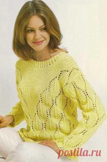 Gentle pullover spokes