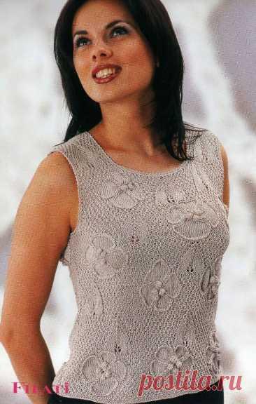 Это ваши модели!!! Подборка летних вязаных топов.   Asha. Вязание и дизайн.🌶   Яндекс Дзен