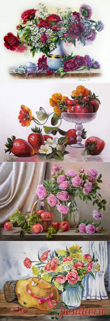 Дачные натюрморты Валентины Валевской