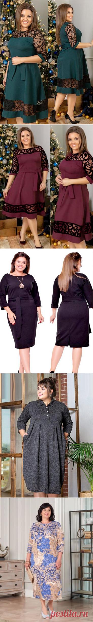 Платья Brilla — Одежда для женщин с пышными формами