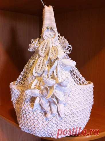 Летняя сумка с лилиями - Lilia Vignan
