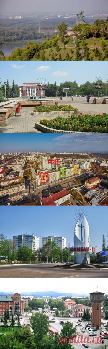 20 крупнейших городов Республики Башкортостан / Туристический спутник