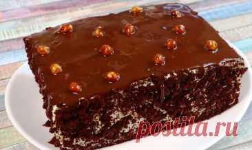 Домашний торт, который не нуждается в пропитке Очень простой рецепт – бисквит выпекаем один, а получаем много слоев.