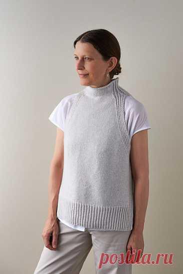 Ravelry: Ribline Vest pattern by Purl Soho