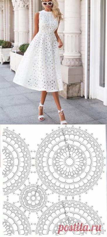 Кружевные платья из инстаграма с подбором схем для вязания крючком. | Asha. Вязание и дизайн.🌶 | Яндекс Дзен