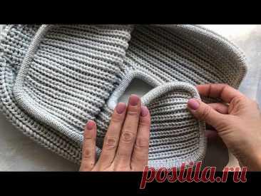 Идеальная обвязка шапки-ушанки. Кетлевка с помощью иглы