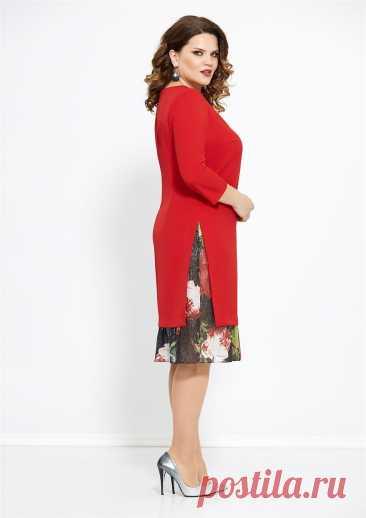 Платье Mira Fashion 4765 купить с доставкой по России | Интернет-магазин BelaRosso-shop.ru