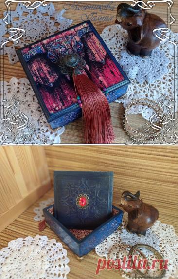 Шкатулка в восточном стиле – купить на Ярмарке Мастеров – N21QURU | Шкатулки, Москва