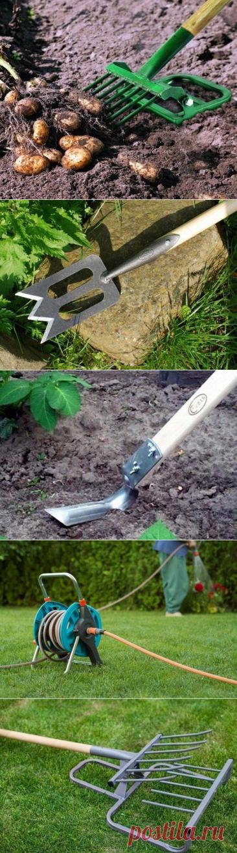 8 современных приспособлений для работы в огороде
