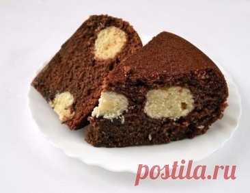 Шоколадный манник в мультиварке: Десерт, который любят детки