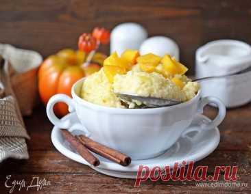 Как приготовить Пшенная каша с тыквой и корицей Пошаговый рецепт с ингредиентами и фото