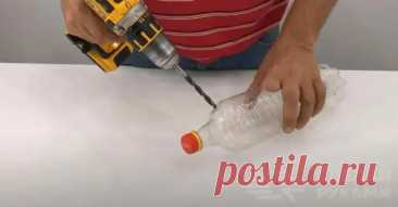 Самодельный «аэрозольный баллончик» из пластиковой бутылки - Самоделкино - медиаплатформа МирТесен