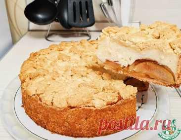 Яблочный пирог с творогом – кулинарный рецепт
