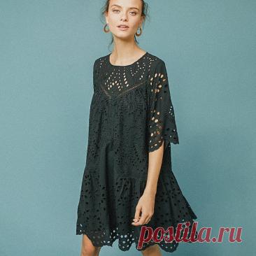 Платья из шитья. Легко ли вязать — пробую разобраться | Вязунчик — вяжем вместе | Яндекс Дзен