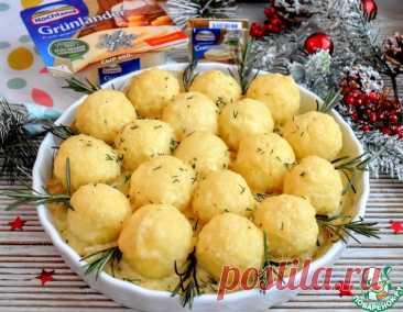 Куриное филе под картофельными шариками – кулинарный рецепт