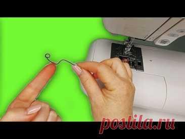 Уникальное швейное приспособление своими руками. Вы даже не представляете, как сним можно шить