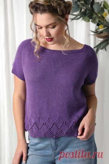 Летний топ Daydreamer Tee by Susanna IC - Knitting.Klubok.ru.com