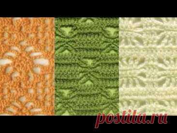 Узор крючком - Crochet Pattern #shorts - YouTube