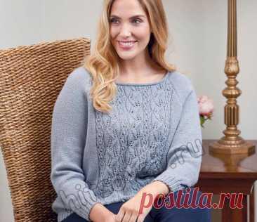 Вязание пуловера Wellesley - Хитсовет