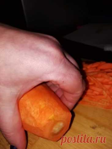 Знакомый узбек научил резать морковь соломкой за 40 секунд. Теперь так режу все овощи | Отчаянная Домохозяйка | Яндекс Дзен