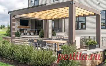 (99+) Как сделать идеальную террасу в загородном доме - Квартира, дом, дача - медиаплатформа МирТесен