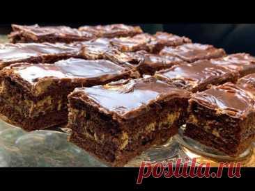 Шоколадно-медовый торт Марс!
