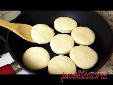 Как я  готовлю хлеб на ужин за 10 минут! Хлеб без дрожжей! #84