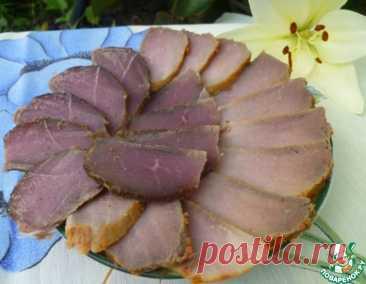 Вяленое мясо в сушилке – кулинарный рецепт