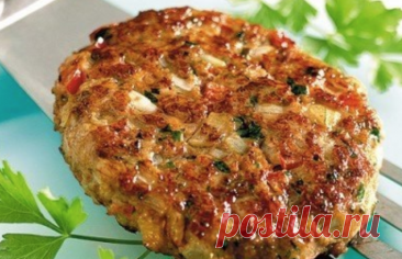 Bajo en calorías kotletki para la cena sana