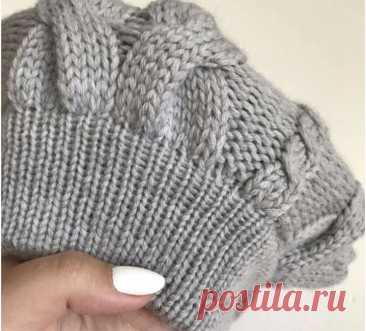 Как укрепить резинку шапочки или рукава? (Уроки и МК по ВЯЗАНИЮ) – Журнал Вдохновение Рукодельницы