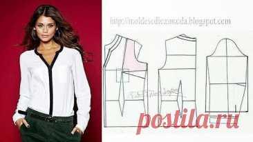 Моделирование модных блузок