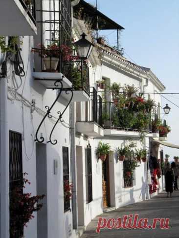 Настоящая жемчужина Испании - город Михас