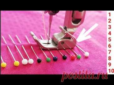 Вы можете воплотить в жизнь более практичные идеи с помощью 10 простых советов по шитью