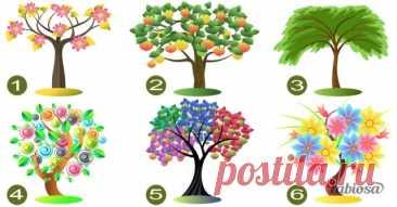 Тесты, Загадки ..ну и Отгадки 🙄 | 1-й ЖЕНСКИЙ ღ ☆ ღ ☆ ღ ☆ ღ  Выберите дерево и узнайте, какие черты характера в вас доминируют! 😉