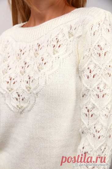 Вязание-спицы-Пуловеры и Джемпера