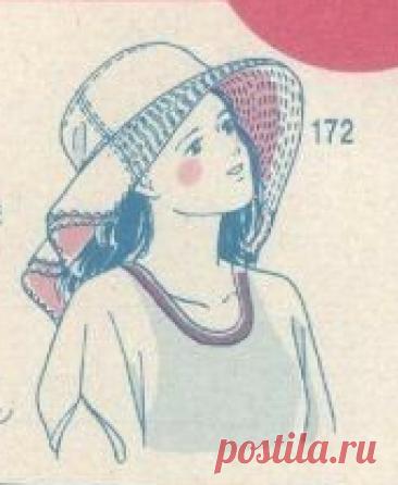 7406.🔴 ИДЕЯ. | OK.RU.. ЛЕТНЯЯ ШЛЯПА закрывающая шею.🔴 ВЫКРОЙКА.