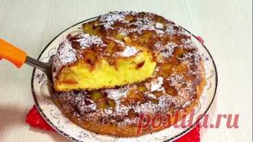 #Быстрый и #легкий #рецепт #яблочного #пирога! #Неимоверно #вкусно!