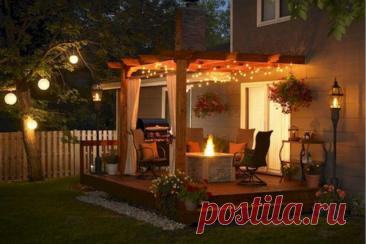 Как сделать уютное и красивое освещение на даче Как сделать уютное и красивое освещение на даче/ Правильный ландшафтный дизайн способен превратить сад вокруг загородного дома в прекрасную зону отдыха, где сочетаются эстетичность, функциональность и комфорт.